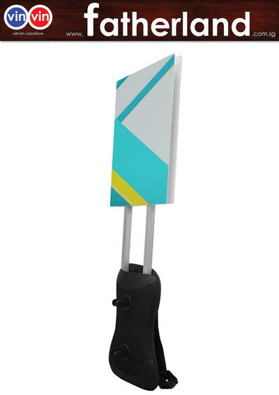 Man Pack Mobile Sign - A1 Size ( Included )