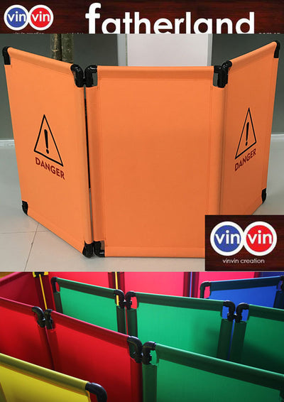 VINVIN 3 LAYER LIFT FOLDING BARRIER