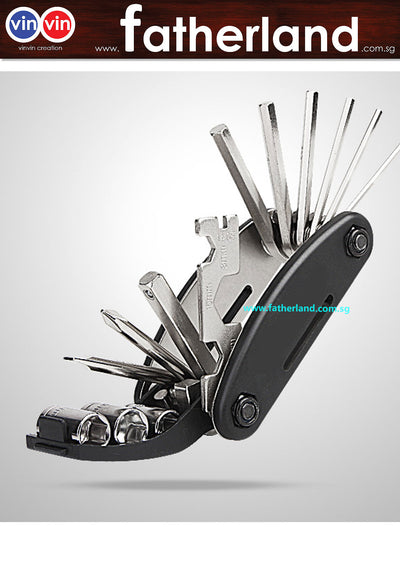 BICYCLE FOLDING 16 SET TOOLS