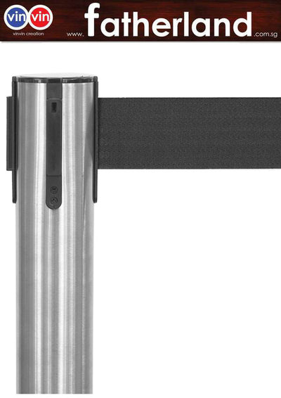 QUEUE POLE WITH BLACK BELT VIN-EC SERIES