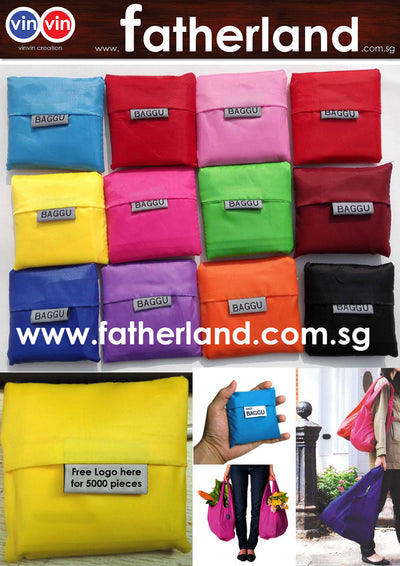 vinvin Folding Recycled Shopping Bag ( Full Colour Printing )