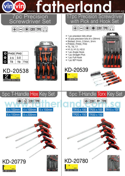 ALLEN HEX KEY  ( Series 2 )