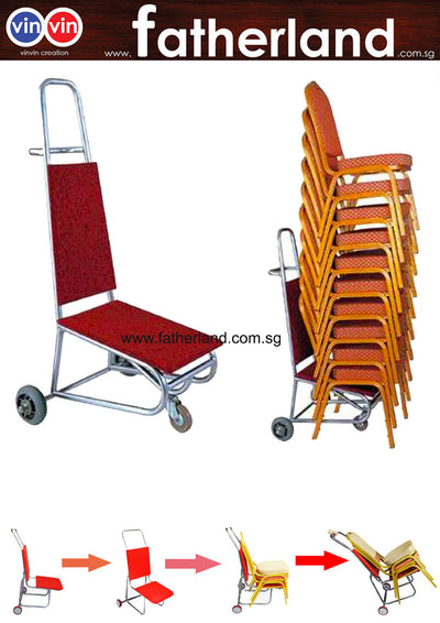 hotel banquet chair cart