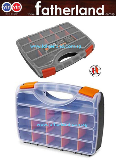 Kendo 90224 Plastic Organizer 15 Compartments