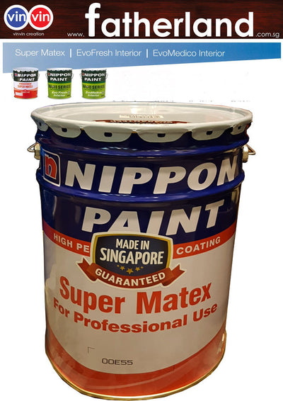 SUPER MATEX EMULSION PAINT (00E 5S WHITE)- 20 LITER