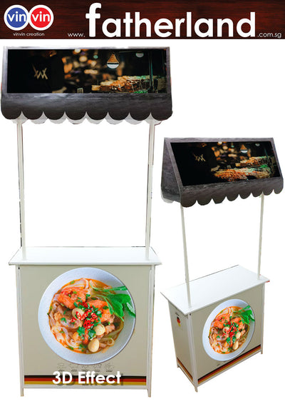 Mobile Promotion Counter Large 3D Effect Model : W-S2