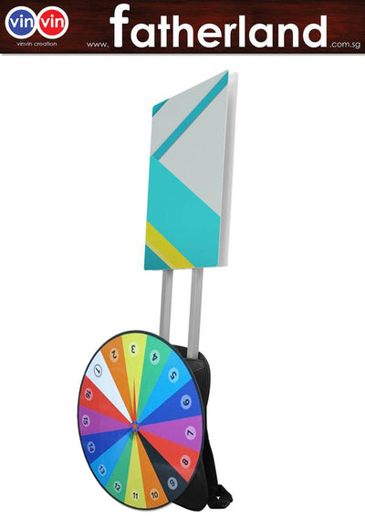 Man Pack Mobile Sign - A2 Size and Wheel of Fortune