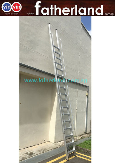 Pit ladder with Handrail