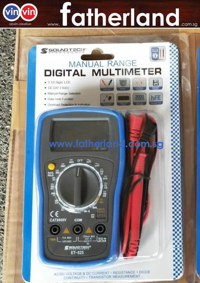 Multimeter ET-825