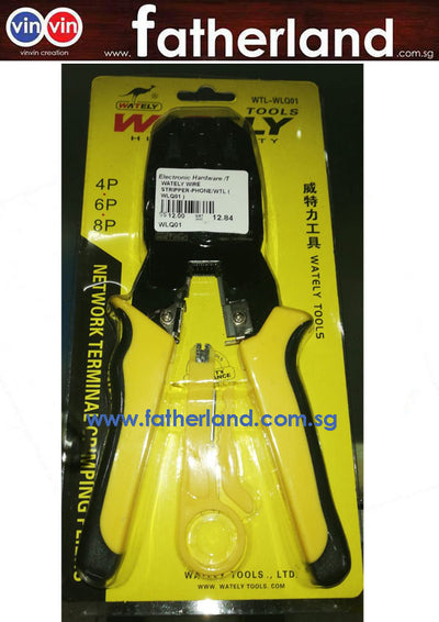 WATELY 3 IN 1 TERMINAL CRIMPING TOOL WLQ01