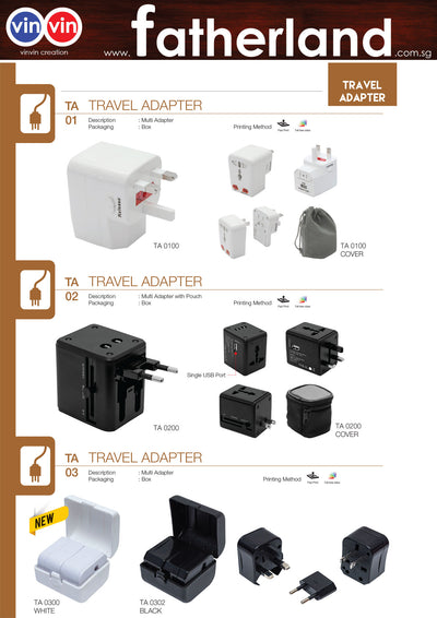 All in One Universal Travel Adaptor Catalog 1