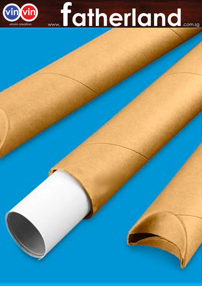 POSTER TUBE WITH SNAP-SEAL TUBES 1 Meter