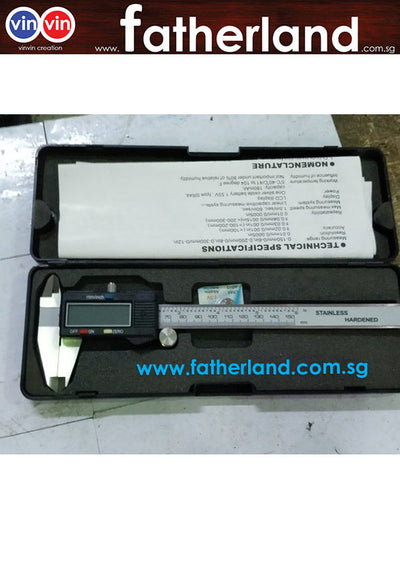 Digital vernier caliper 0-150mm / 200mm