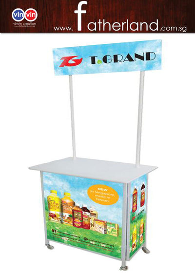 Mobile Promotion Counter - Large HE series .