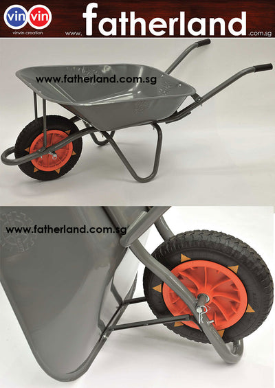 Heavy Duty Wheel Barrow with Welded Body