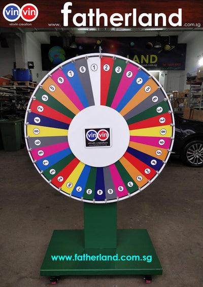 WHEEL OF FORTUNE 1200MM GIANT SERIES WITH WHEELS