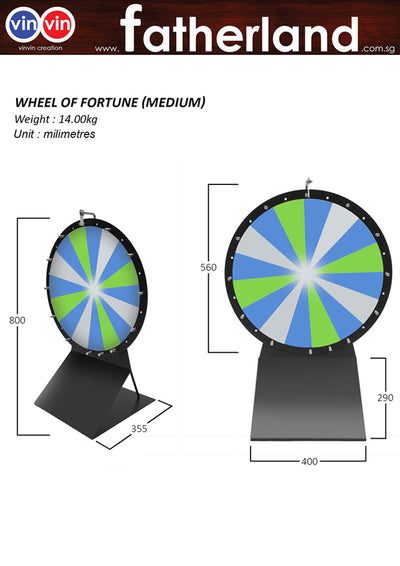 MEDIUM WHEEL OF FORTUNE (560MM DIA)