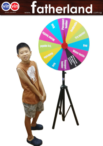 WHEEL OF FORTUNE 800MM PORTABLE