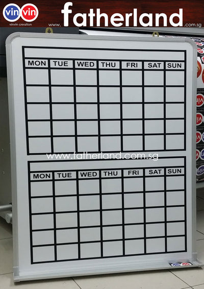 Magnetic White Board Customisation Wording