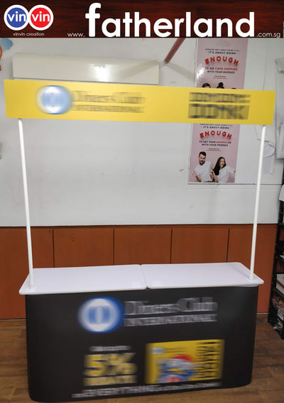 Mobile Promotion Counter Wide Join Series