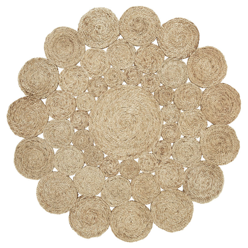 Flower Weave Camilla Rug Natural