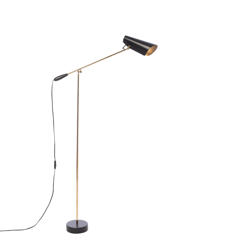 Birdy Floor lamp Black/Brass