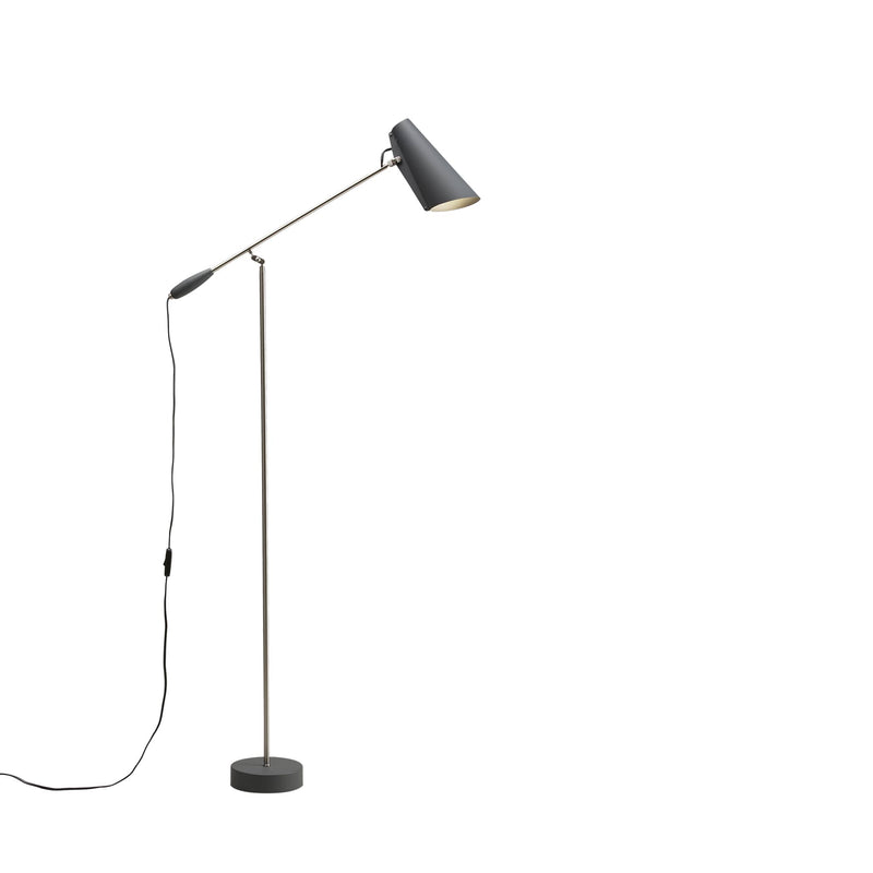 Birdy Floor lamp Grey/Metallic