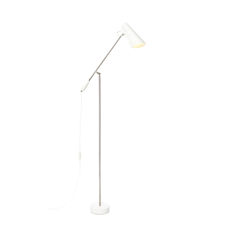 Birdy Floor lamp White/Metallic