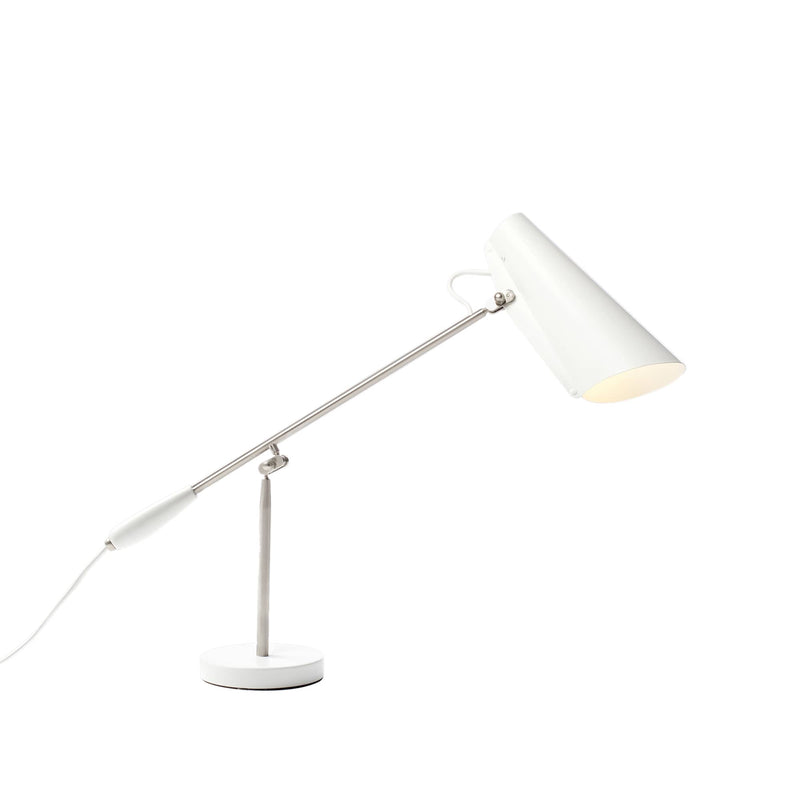 Birdy Table Lamp White/Aluminium