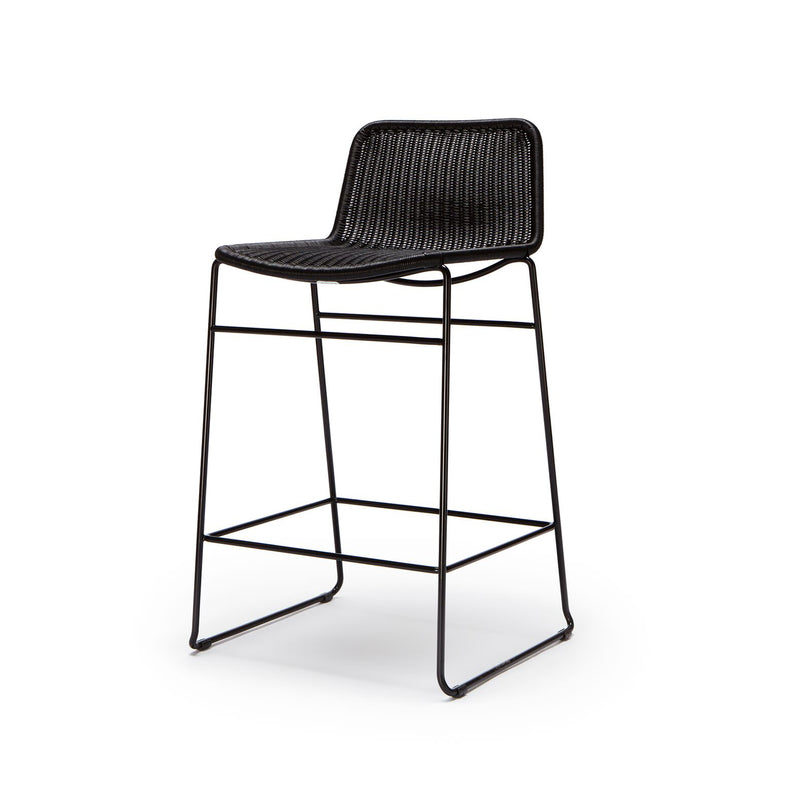C607 Stool Black Outdoor/Indoor
