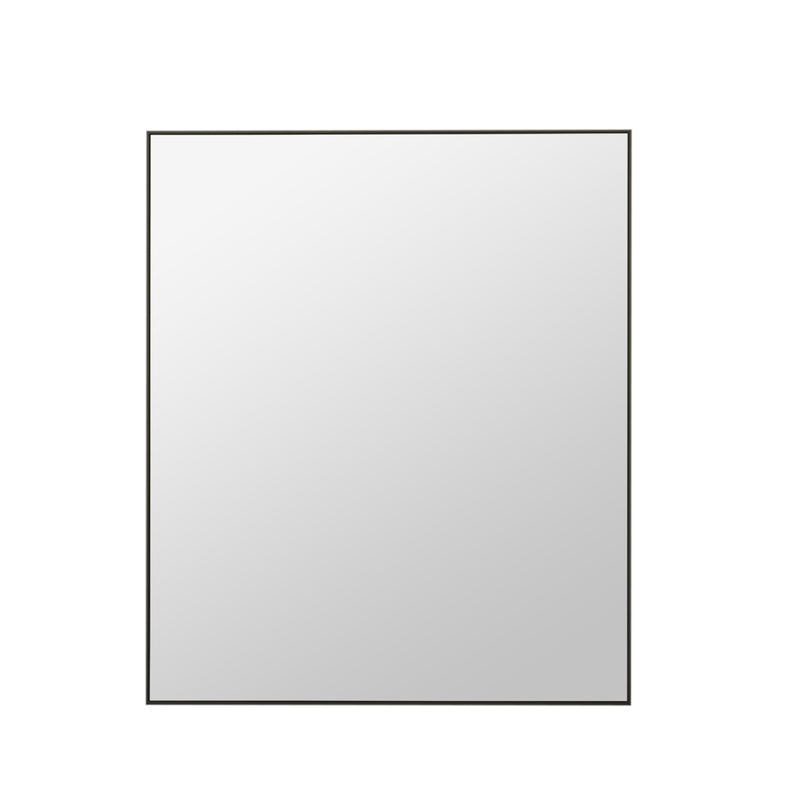 Rectangle Mirror Black
