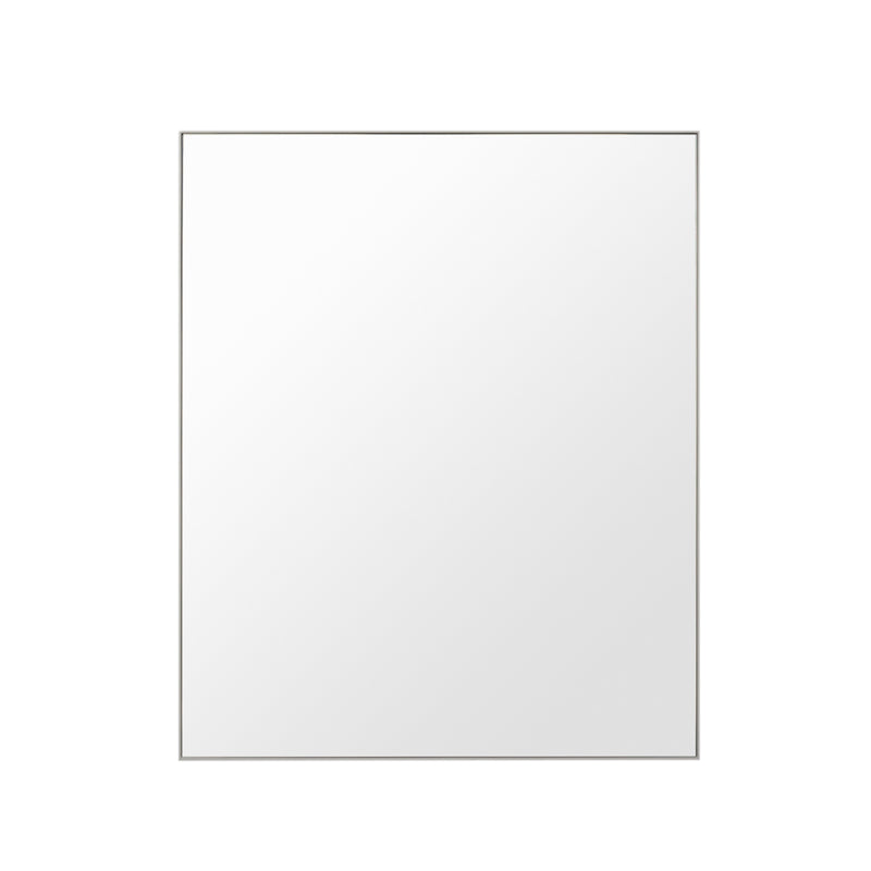 Rectangle Mirror Mid Grey