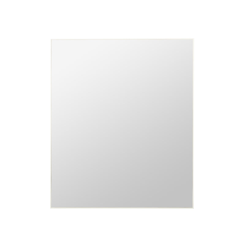 Rectangle Mirror White