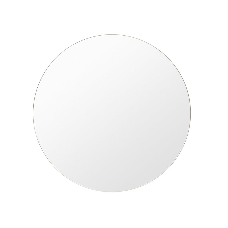 Round Mirror Bright White