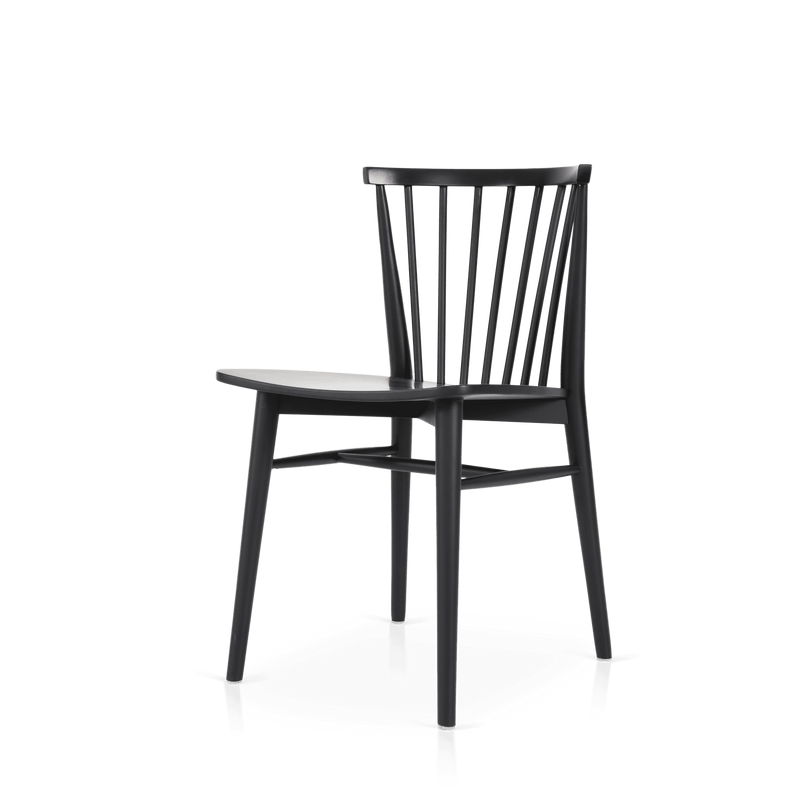 Requin Dining Chair Black
