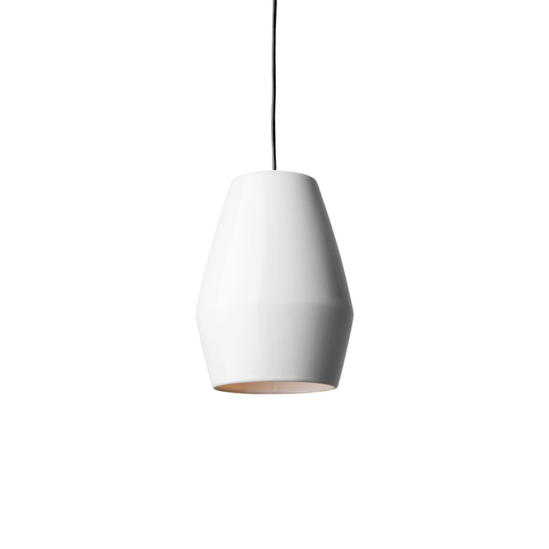 Bell Pendant Light White