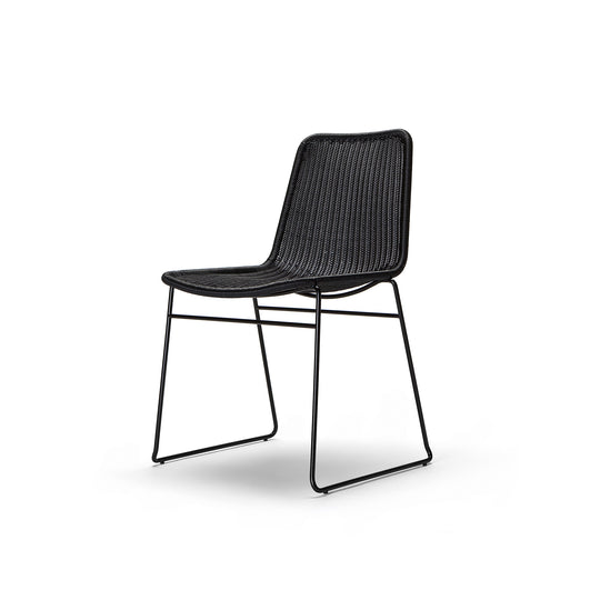 C607 Chair Black Outdoor/Indoor