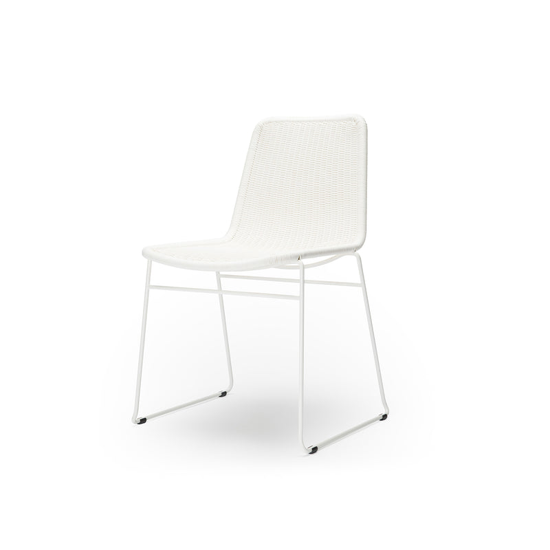 C607 Chair White Outdoor/Indoor