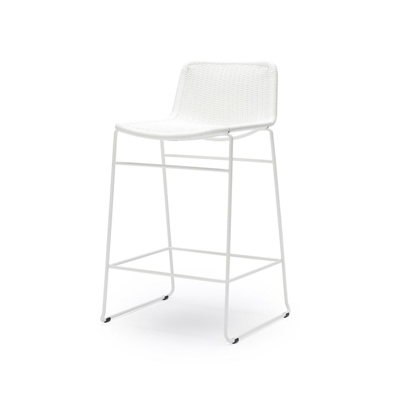 C607 Stool White Outdoor/Indoor
