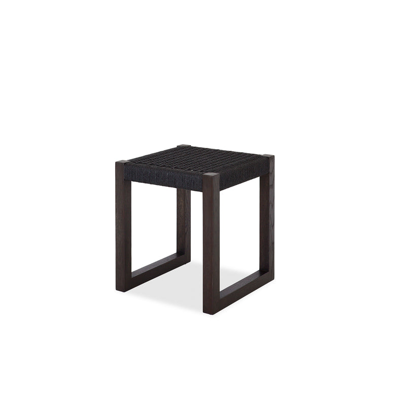 Danish Cord Low Stool Black