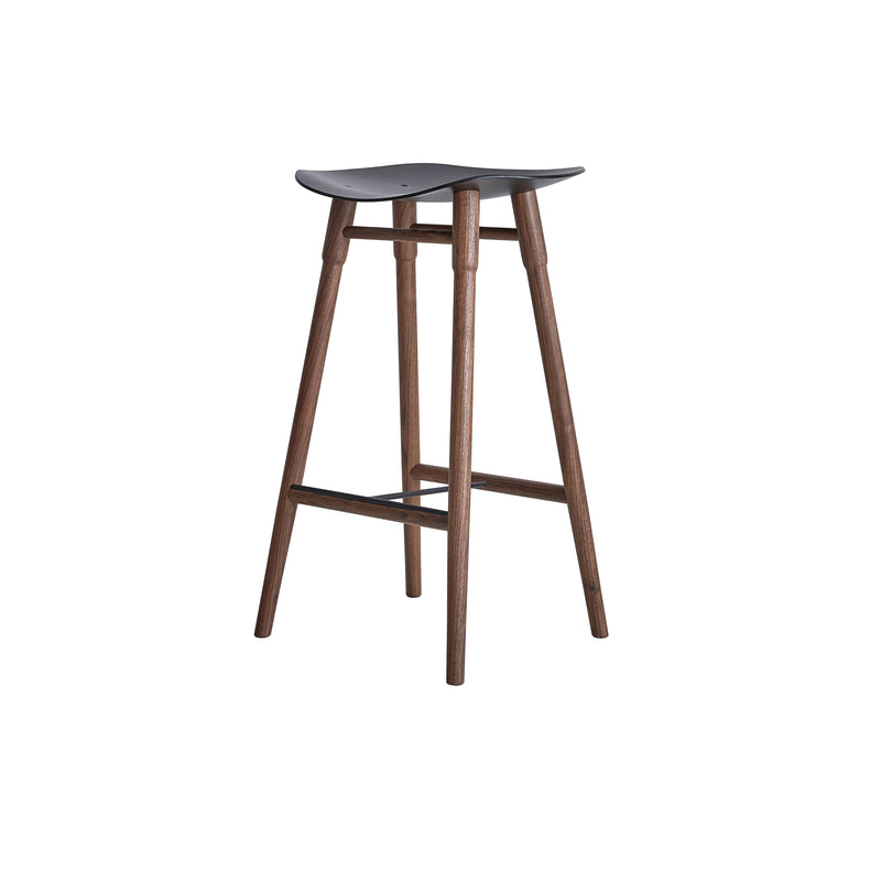 Dowel Stool Walnut