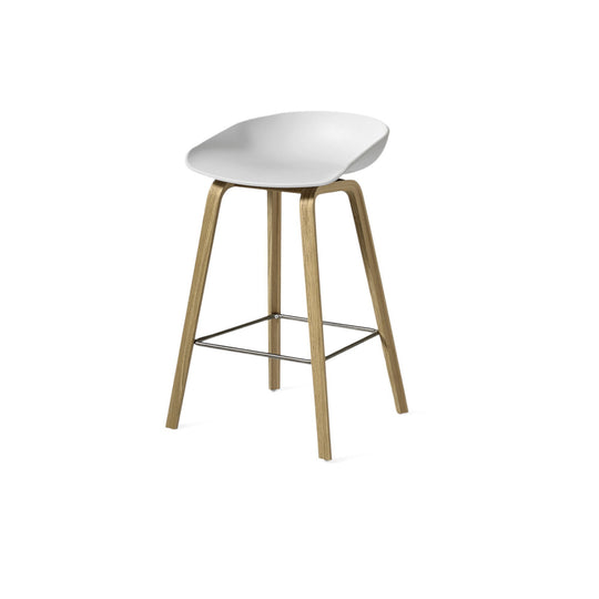Hay About a Stool White