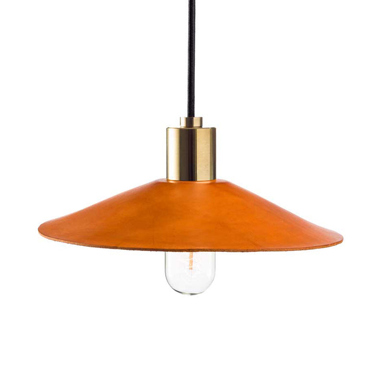 Hide Luxe Leather Pendant Tan
