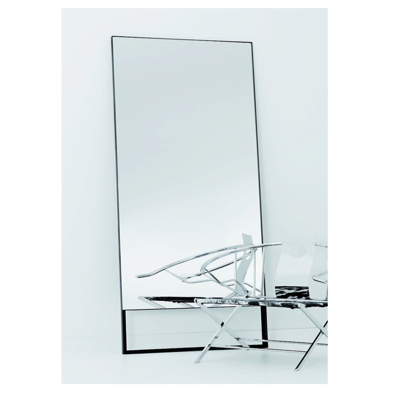 Steel Frame Mirror With Gap