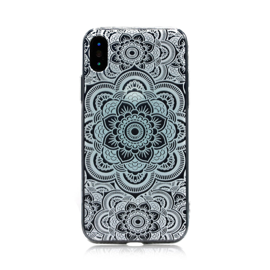 Medallion Mandala Designs Clear TPU Case - Case'nPoint