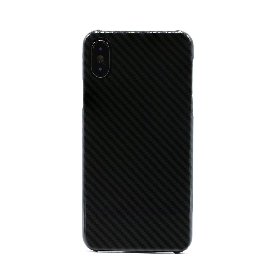 Genuine Carbon Fiber Protective iPhone X Case