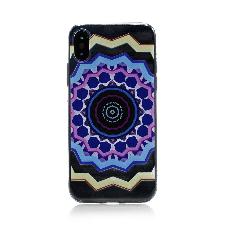 Medallion Mandala Designs Clear TPU Case