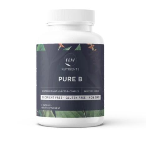 NaturaTech Pty Ltd Natural Supplement Pure B 60