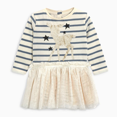 Stripe tutu dress