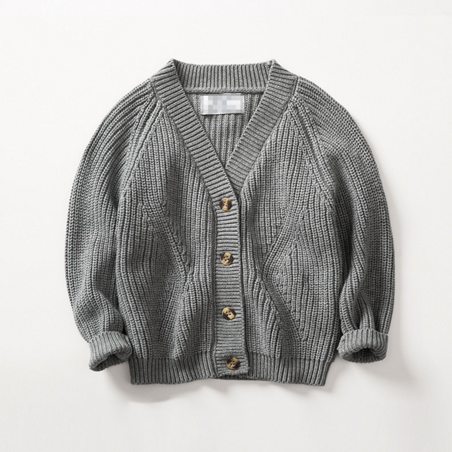Essential cotton cardigan